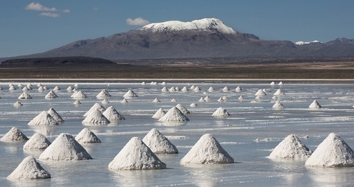 The Salar de Uyuni in Potosi is a great photo opportunity on Bolivia vacations