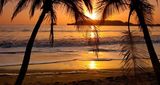 Soak up a tropical sunset on your trip to Costa Rica