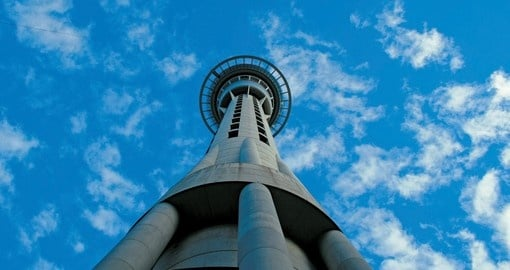 Walk around the city streets of Auckland and marvel at the genius that is the Sky Tower. Inquire about this tour and other New Zealand Vacations by Goway.