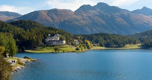 Visit St. Moritz and explore Switzerland's Engadin valley during your next trip to Europe.