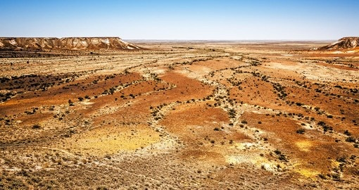 Visit the Great Breakaways at Coober Pedy during your next trip to Australia.