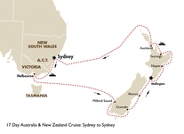 17 Day Australia & New Zealand Cruise: Sydney to Sydney