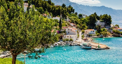 Take in beautiful coast lines on yoru trip to Croatia