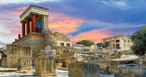 Knossos is the largest Bronze Age archaeological site on Crete and has been called Europe's oldest city