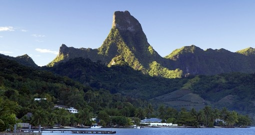 Visit Cook's Bay on your next trip to Tahiti.