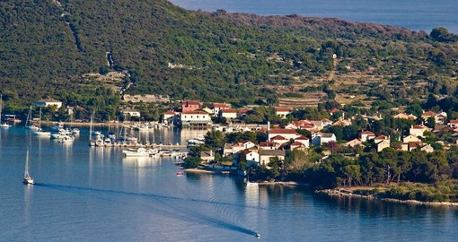 See small and historic Ilovik on your Croatia Vacation