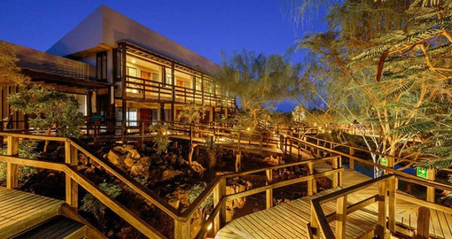 Stay at the Finch Bay Eco Hotel during your Galapagos Tours