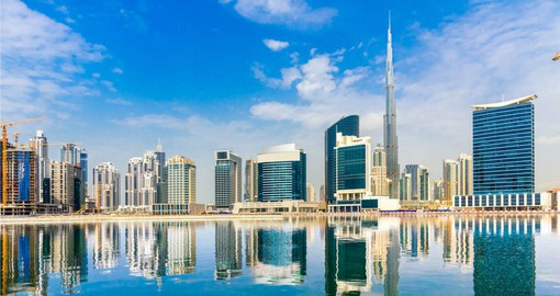 Experience the magnificent skyline on your Dubai vacation package