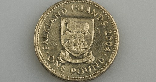 One pound of the Falkland Islands in 2004