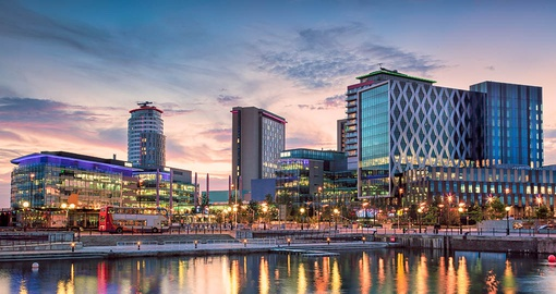 Explore Salford Quays in Manchester on your trip to England