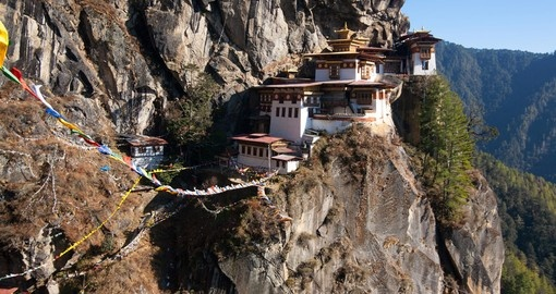 See Tigers Nest monastery on your Bhutan vacation