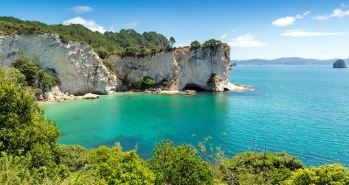 Visit beautiful Stingray Bay on your New Zealand Tour