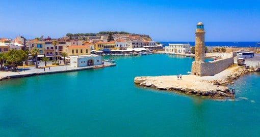 Rethymno has one of the best preserved medieval towns in Greece