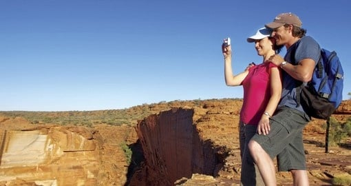 Explore the Kings Canyon on your next Australia Vacations.
