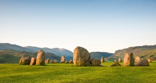 Ancient Castlerigg stone circle