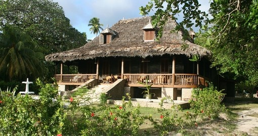 Plantation house in Seychelles