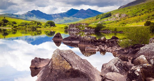 The jagged peaks of Snowdonia are among the most ancient rocks on earth