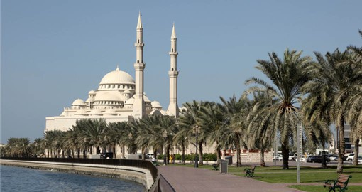 Open in 2005, the Al Noor Mosque is of Turkish Ottoman designed