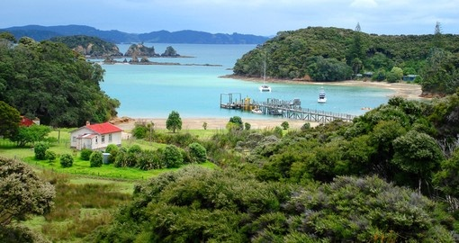 Your trip to New Zealand travels north to the Bay of Islands