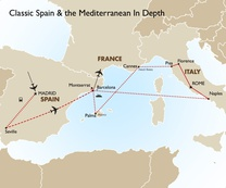 Classic Spain & the Mediterranean In Depth