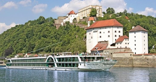 Explore beautiful town Passau on your next Germany vacations.