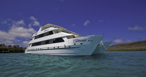 Cruise the high seas on your Galapagos tour