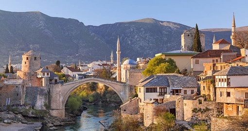 See beautiful Mostar on your trip to Europe