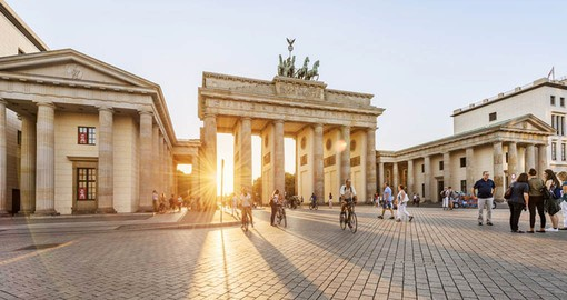 Visit the 19th-century Brandenburg Gate as part of your German Vacation Package