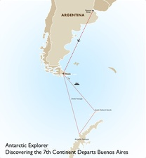 Antarctic Explorer: Discovering the 7th Continent Departs Buenos Aires