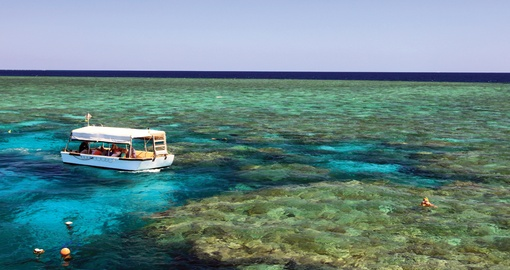 Enjoy Remote Reef Escapes on your small group cruise