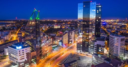 Estonia's financial district