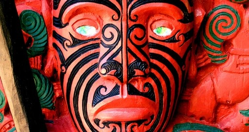 Maori Warrior Carving
