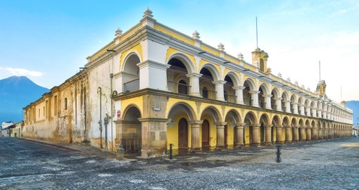 Discover Baroque Style Buildings on your next trip to Guatemala.