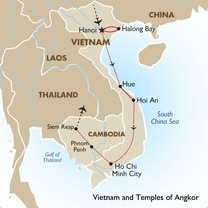 Vietnam and Temples of Angkor