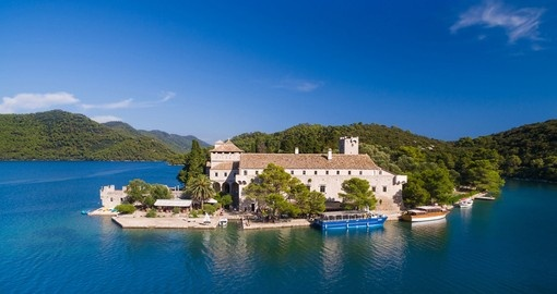 See the Monastery of Saint Mary on your Croatia Tour