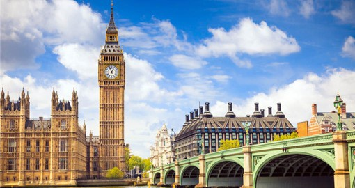 Start your London Vacation with a visit to Big Ben and the Houses of Parliment