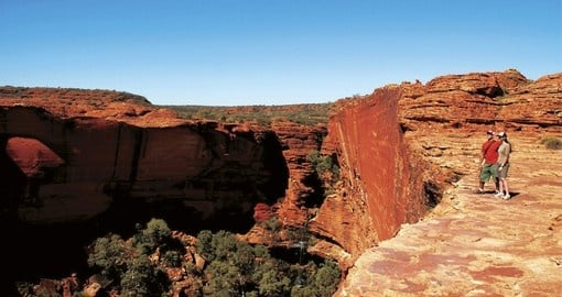 One of the must see places during your next trip to Australia is Kings Canyon.