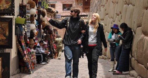 Walk the historical streets of Cusco on your Peru Tour