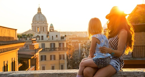 Take some family time in Rome on your trip to Italy