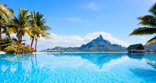 Your Tahiti Vacation begins on the Island of Bora Bora