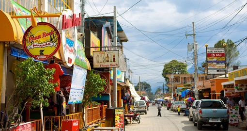 Visit Panajachel city on your next Guatemala vacations.