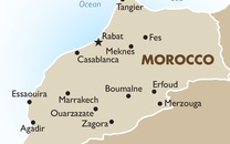 Morocco Country Map