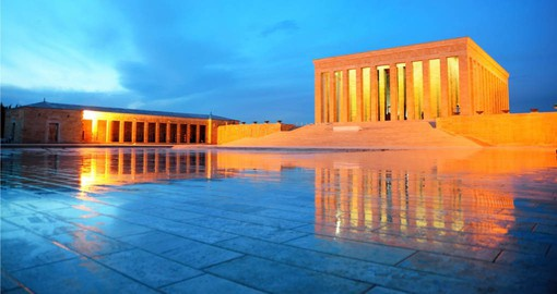 Explore Anitkabir in the city Ankara on your next Turkey vacations.