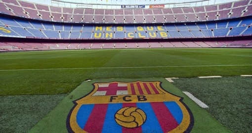The official stadium of FC Barcelona