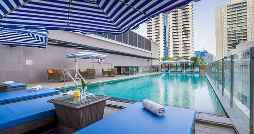 Stay at the Well Hotel Bangkok Sukhumvit 20 during your Thailand tour.
