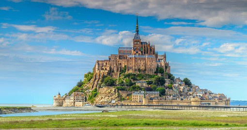 The construction of the Abbey of Mont Saint Michel took over 1,300 years