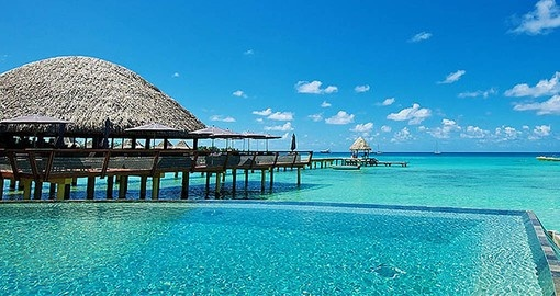 During your Tahiti Vacation you'll stay at the Kia Ora resort
