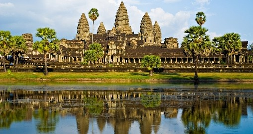 Visit historic Angkor Wat on your Cambodia Tour