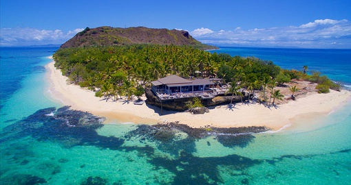 Kick back with a drink on your trip to Fiji