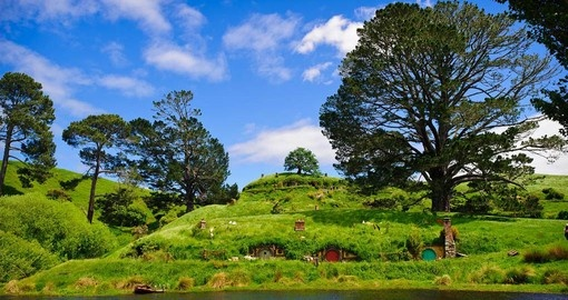 On your New Zealand Vacation, visit Hobbiton Shire